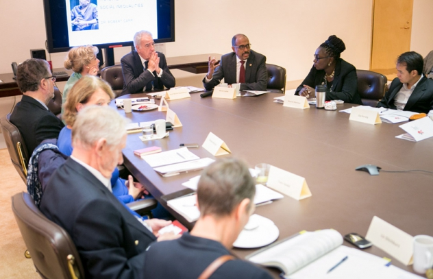 Picture of high level meeting in New York