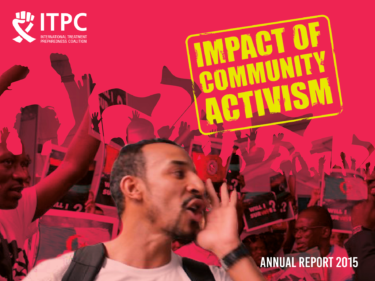 ITPC Impact of Community Activism Annual Report Cover