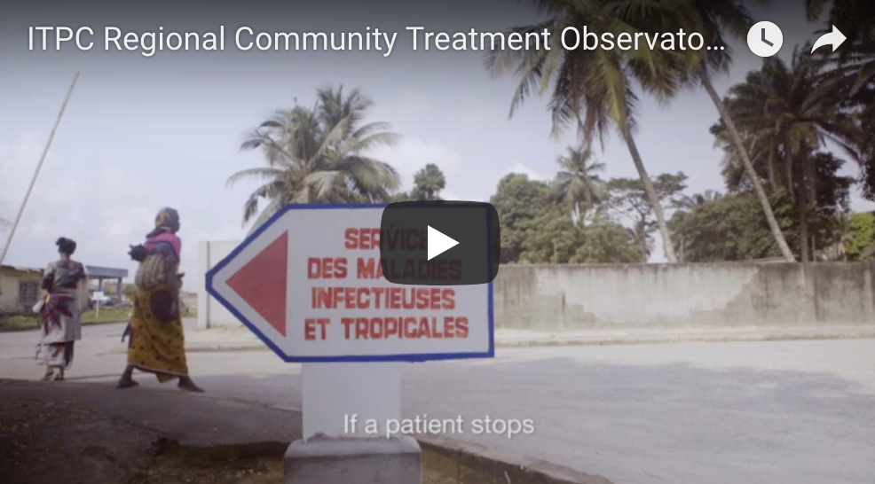 Video of Regional Community Treatment Observatory in West Africa