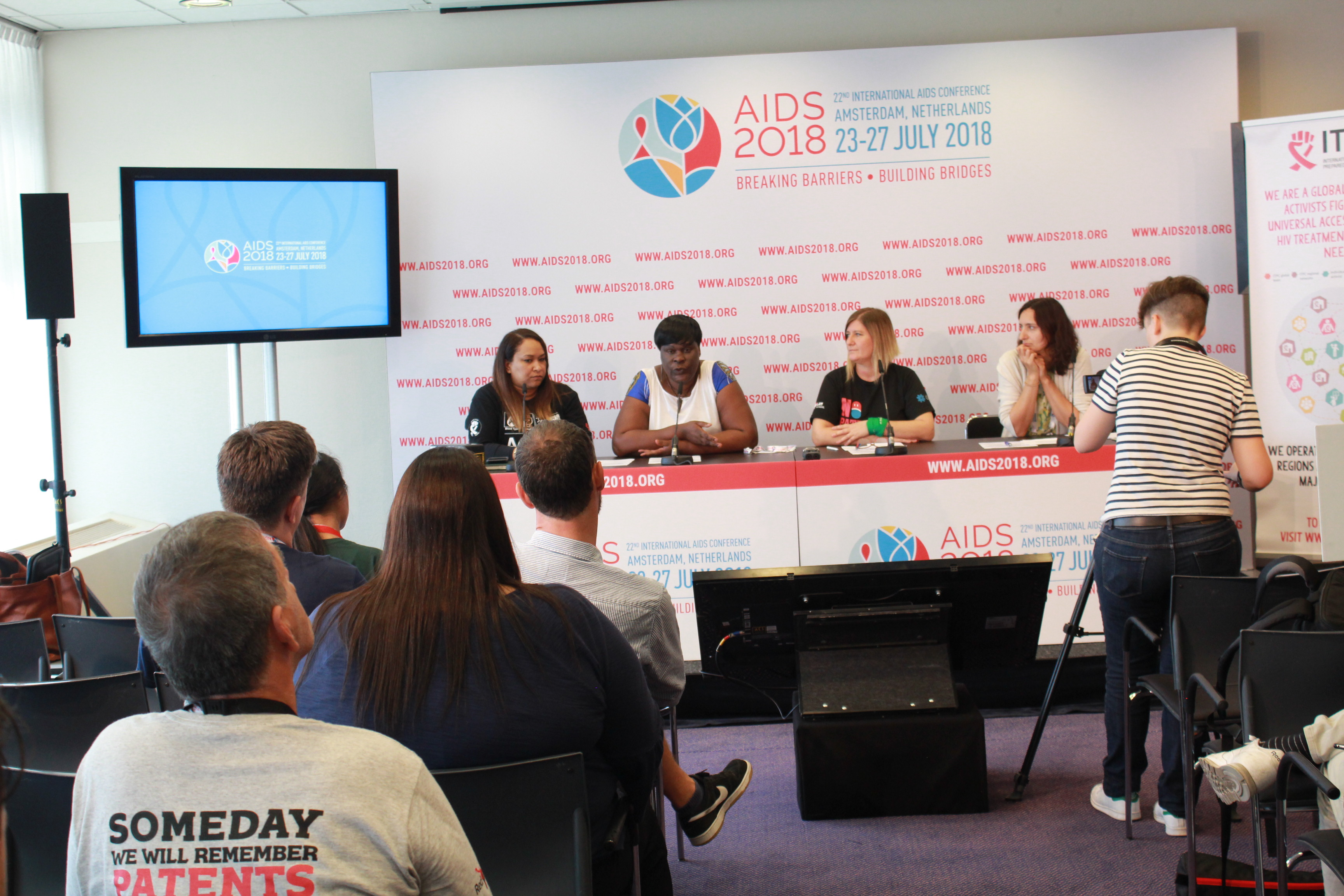 itpc press conference aids 2018