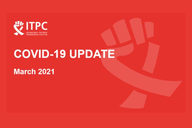 ITPC Covid 19 Update March 2021