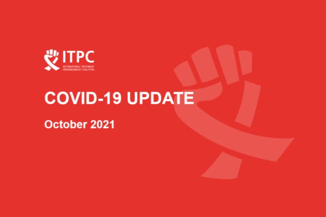 ITPC covid update october 2021